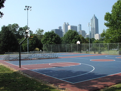 Central Park Basketball Courts