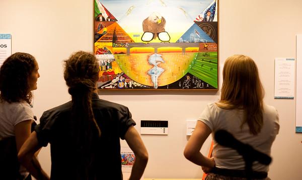 """""""American Dreams"""": Cornelio Campos Exhibition"""