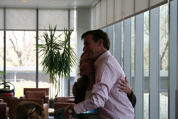 Tara and Bogdan's Farewell Lunch