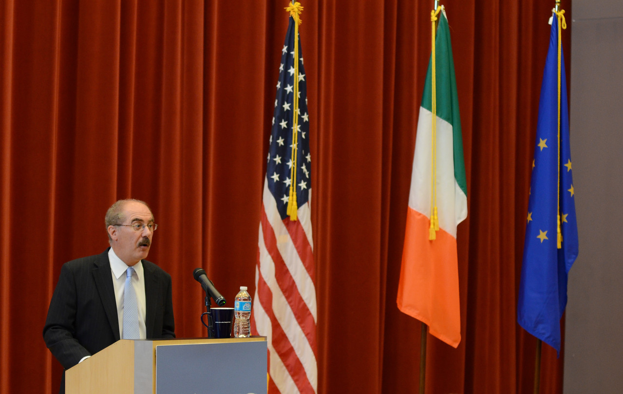 Ambassador Collins' visit in September 2012