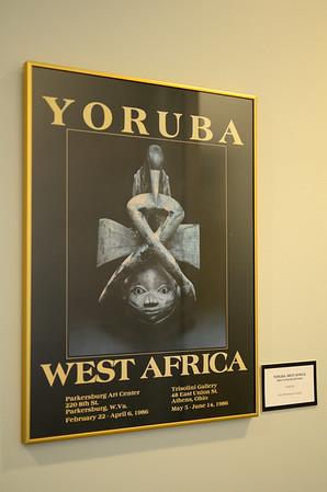 Yoruba, West Africa - West African Artisan  Poster  Gift of Roberta Ann Dunbar