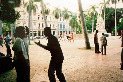 José Martí Square, Havana - Alex Harris  Photo print - 2002  Gift of Charles Weinraub