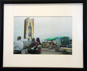 Guinness and Okada Victoria Island, Lagos Sascha Bollag  Photo print  Gift of artist Sascha Bollag