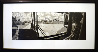 Cuba Contra la Guerra - Jean-Christian Rostagni  Photograph - 2003  Gift of Timothy McKeown
