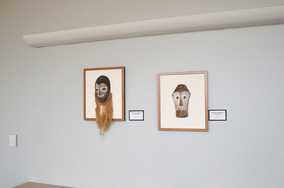 Dance and Initiation Masks of the Lega Tribe - Lega tribe, Congo  Wood  Gift of Neal Johnson