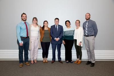 UNE College of Dental Medicine Awards held on 5.7.18 in Innovation Hall, Portland, Maine