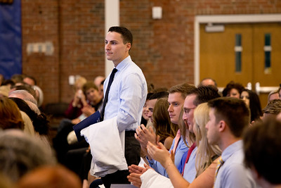 UNE College of Dental Medicine White Coat Ceremony, October 13th, 2017, held at Innovation Hall in Portland, Maine. Class of 2021.