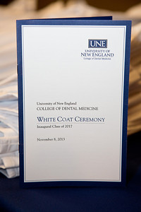 UNE College of Dental Medicine White Coat Ceremony, 11.8.13, Portland, Maine