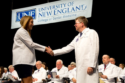 UNE College of Dental Medicine White Coat Ceremony, September 30, 2016.  Class of 2020.