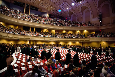 University of New England College of Osteopathic Medicine Hooding Ceremony at Merrill Auditorium, Portland Maine 5.19.18