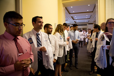 UNE COM White Coat Ceremony 9.23.17 held at Merrill Auditorium in Portland Maine.