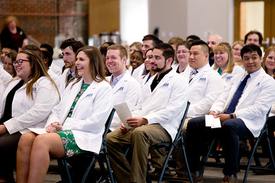 UNE College of Pharmacy Class of 2019 Professional Transition Ceremony April, 12, 2018, Innovation Hall, Portland, Maine.