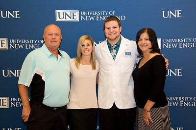 UNE College of Pharmacy White Coat Ceremony held on 10.13.13 at WPAC