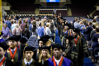 University of New England College of Pharmacy Hooding Ceremony at the Cross Insurance Arena, Portland, Maine 5.18.18