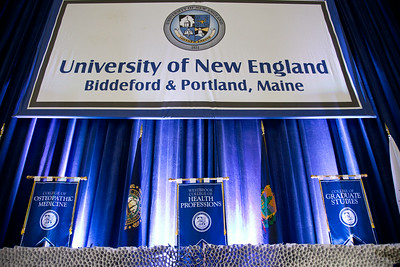 University of New England Commencement held at the Cumberland County Civic Center in Portland, Maine on 5.17.14