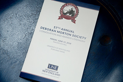 57th Deborah Morton Society Convocation Ceremony, 6.15.18.  University of New England, Portland Campus, Portland, Maine.