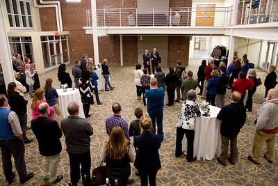 UNE Neighbors Event on the Portland Campus with President James Herbert, held at Innovation Hall on 12.6.17 on the Portland, Maine Campus of UNE