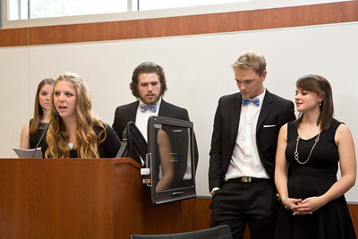 UNE U Lead Awards held in Leonard Hall, Biddeford Campus of UNE on 4.13.14