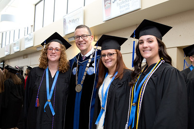 University of New England Commencement held at the Cross Insurance Arena in Portland, Maine on 5.19.18