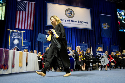 Westbrook College of Health Professions Graduate Award and Hooding Ceremony, 5.18.18, Portland, Maine