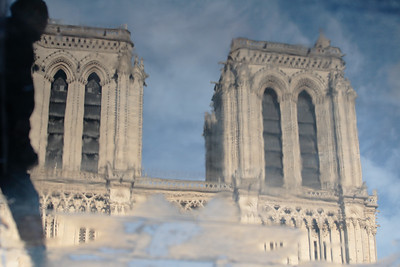 Reflection of Notre-Dame