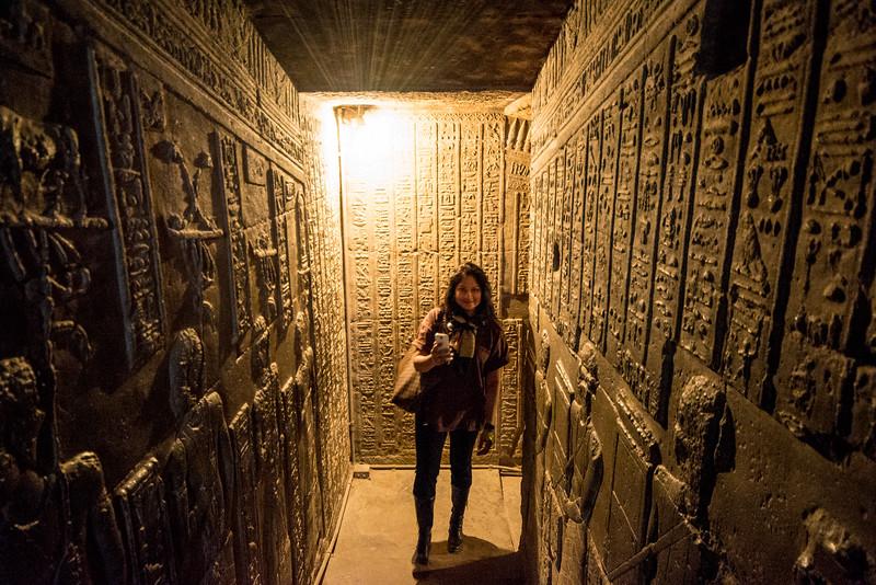 Temple of Hathor @ Dendera, Egypt
