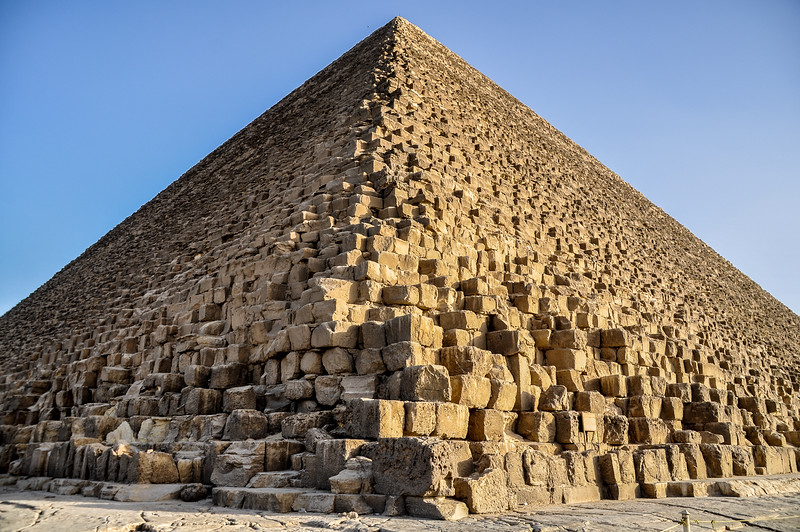 The Great Pyramids of Giza @ Cairo, Egypt
