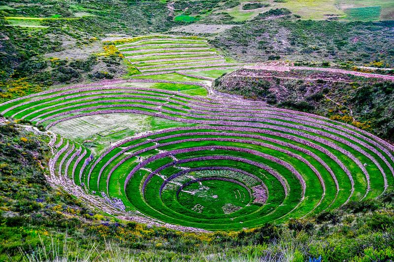 The Moray Circles @ Peru