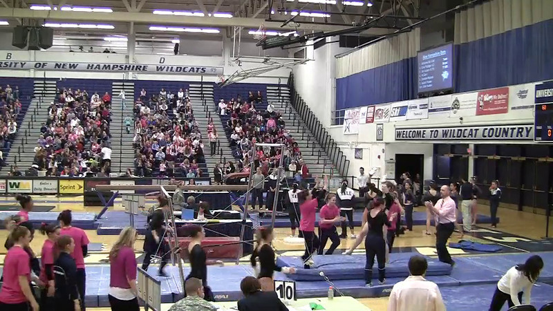 UB-Danielle Reibold 9 825 Pink meet 2-4-12
