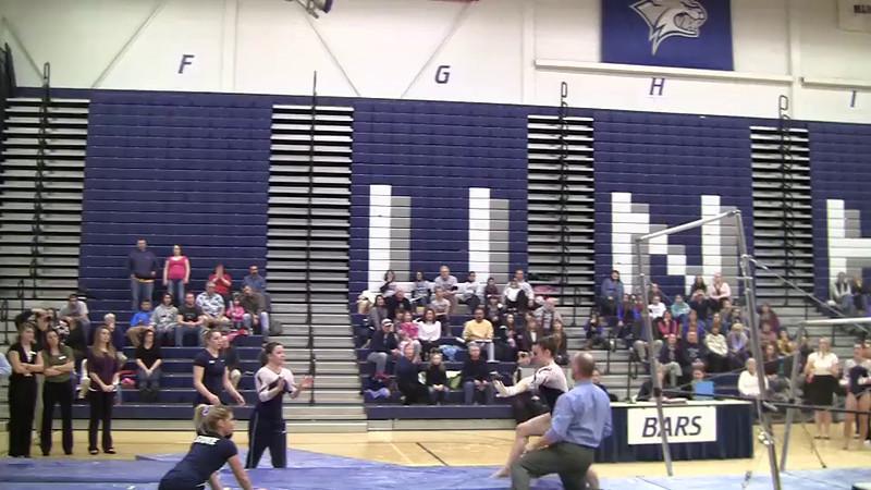 UB-Erika Rudiger 9 625 vs Penn St 1 15 12