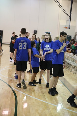 MN (BLUE TEAM) VS MW (UNIFIED BASKETBALL)