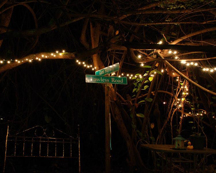 The corner of Gunn & Lawless.