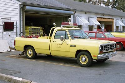 PINE BLUFF ARSENAL FD AR  UTILITY 46  1982  DODGE RAM  4X4 PICKUP