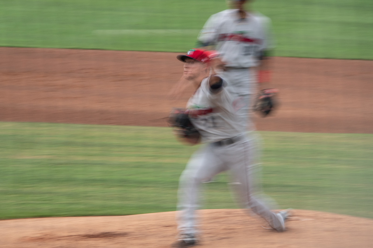 """The pitcher plays to make """"outs"""" wherever he can"""