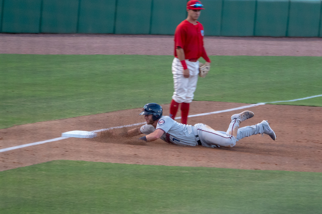 Safe on third base