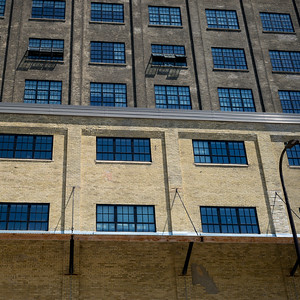 Low angle view of an office building, Minneapolis, Hennepin County, Minnesota, USA