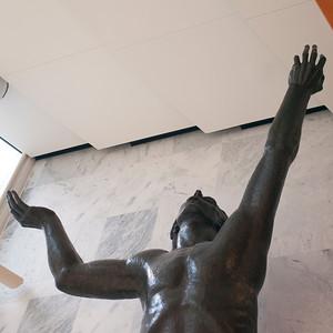 Statue in Rochester, Minnesota, USA