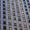 Full frame shot of Socony-Mobil Building exterior, 42nd Street, Midtown Manhattan, New York City, New York State, USA
