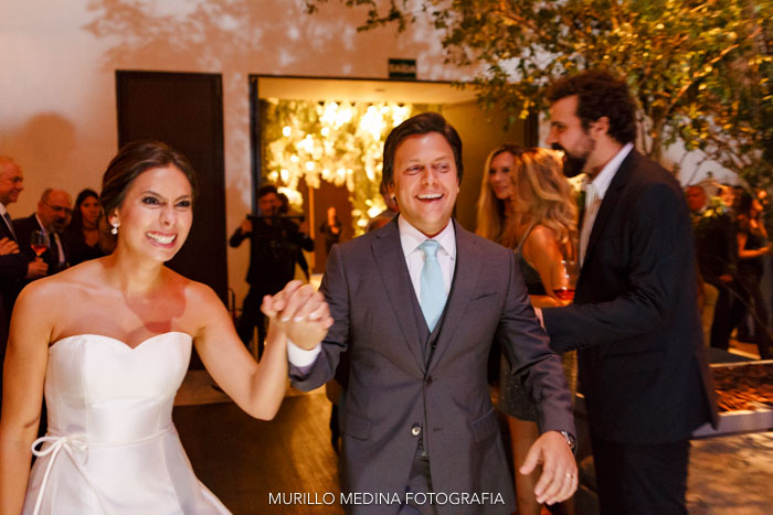 Casamento Ana Clara e Bruno. Paróquia Nossa Senhora do Brasil e Casa Itaim, 18/02/2017. Foto: Murillo Medina Fotografia.