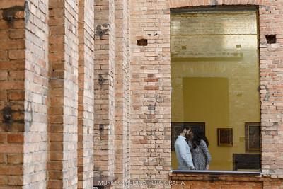 Ensaio Pre-Wedding com Marília e Pedro. Pinacoteca do Estado e Estação da Luz, 05/07/2017. Foto: Murillo Medina.