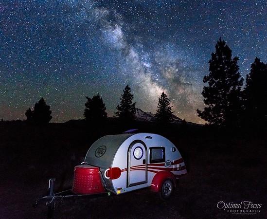 Glamping in Mount Shasta