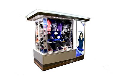 Kiosk cutout