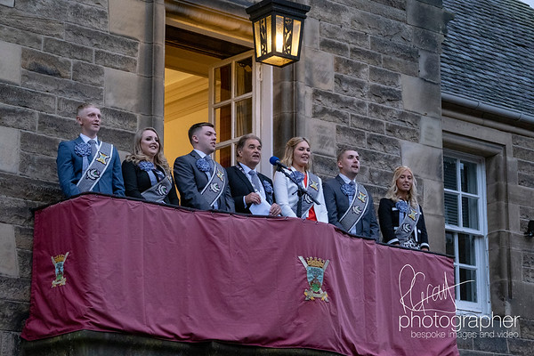 Braw Lads Gathering, Picking Night at Burgh Chambers, Galashiels, UK