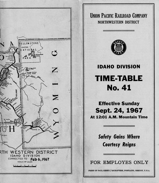 Idaho Div 9-67 cover