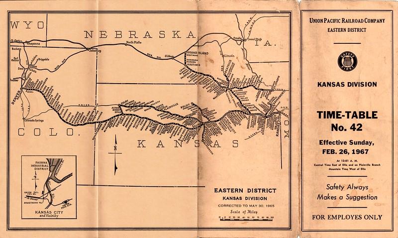 UP ETT Kansas 2-26-67 cover