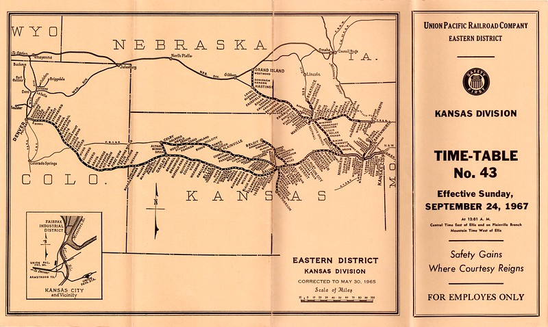 UP ETT Kansas 9-24-67 cover