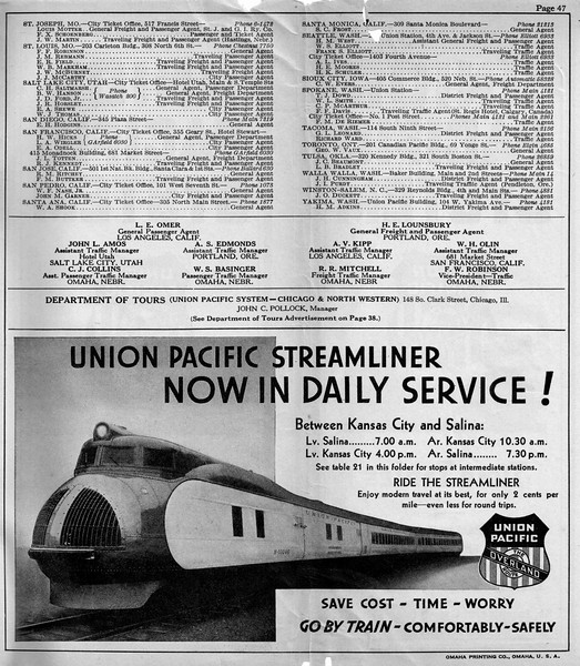 UP PTT 2-1-35 p47<br /> This ad appears in the February 1, 1935 UP-PTT.
