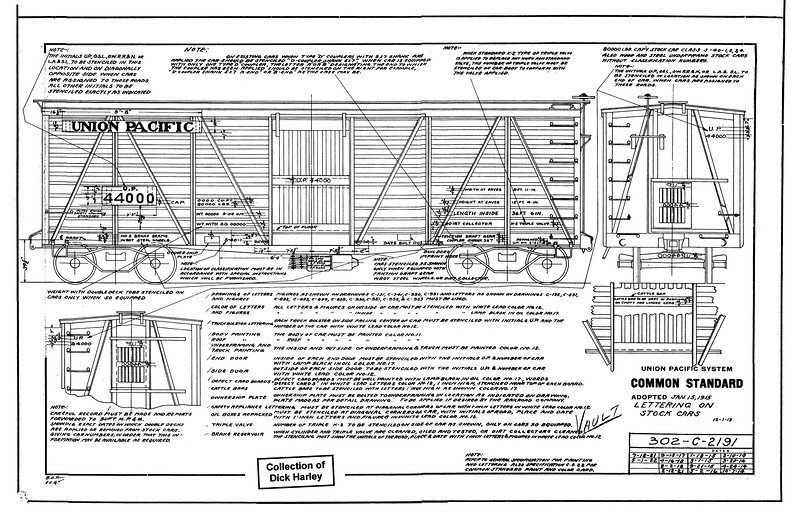 302-C-2191, rev 14, dated 5-1-22  (originally issued 12-1-13)<br /> Class S-40-1 to -4 & NCS (not common standard) stock cars