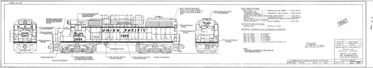 4-axle Road units - GPs, etc.