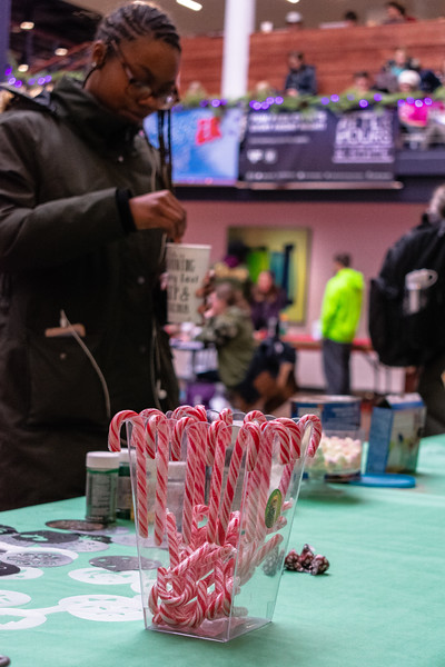 The K-State Student Union Program Council put on a Destressor event on Wednesday, Dec. 5 from 11-1 p.m. at the student union. The UPC had numerous activities, snacks, coffee, and free giveaways for students. (Brooke Barrett | Collegian Media Group)